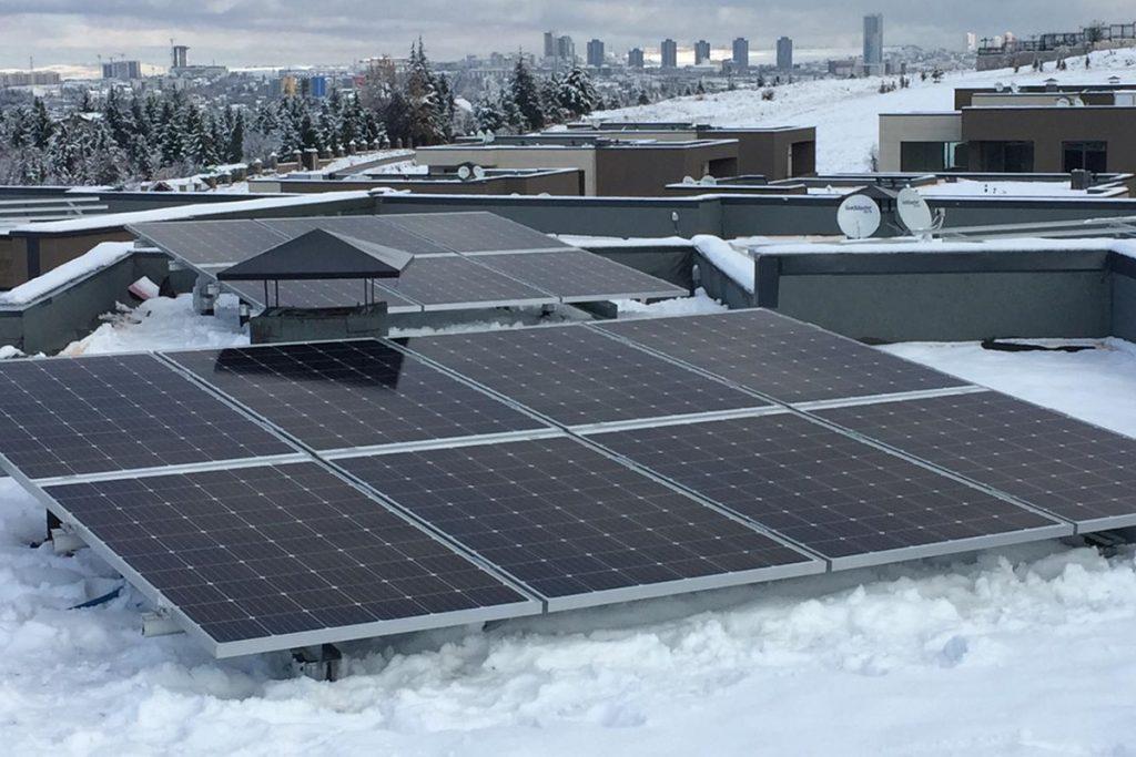 Rinnova GES 4,4 kWp 3 kWe x 17 Adet İncek ANKARA